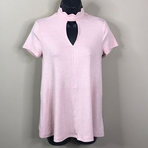 Altar'd State Ribbed Blouse Size XS—B4